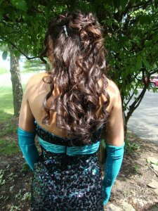 Prom Hairstyle in Columbus, Ohio